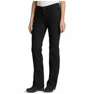 Black Bootcut Jeans Size 10